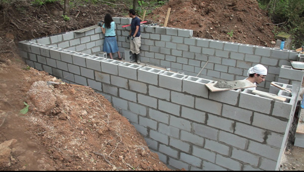 Photos Of Shelter Construction Diystormshelter Com How